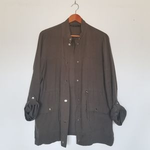 Zara Utility Casual Jacket